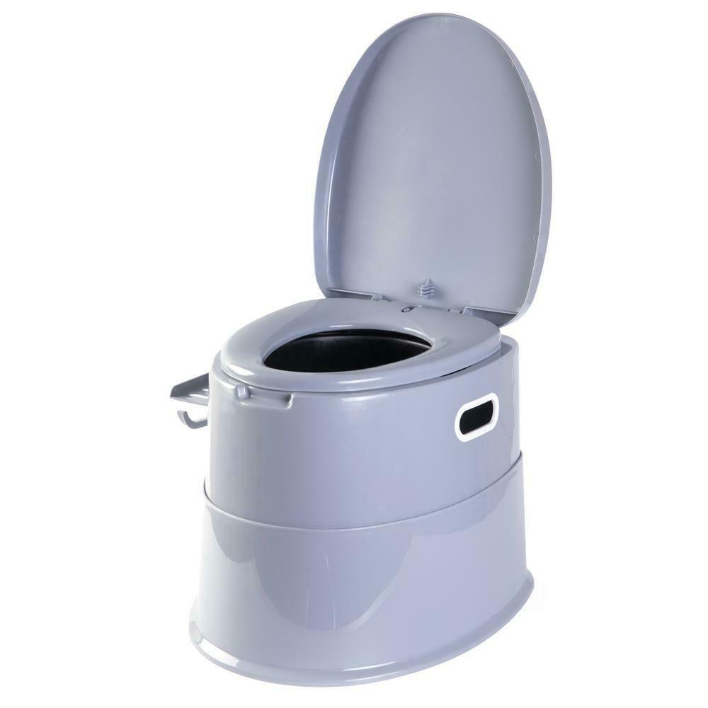PYFK Portable Toilet for Camping,Folding Portable Toilet for Car,Travel Toilet for Camp,Hiking,Long Trips,Traffic Jam Elderly,ABS Plastic,Washable,Sturdy