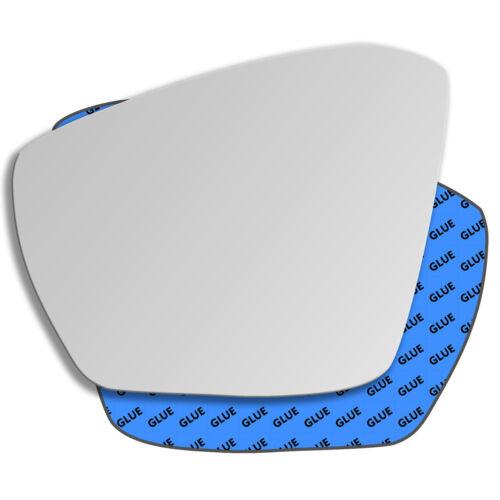 Außenspiegel Spiegelglas Links Konvex Skoda Octavia Mk3 2013-2018 736LS