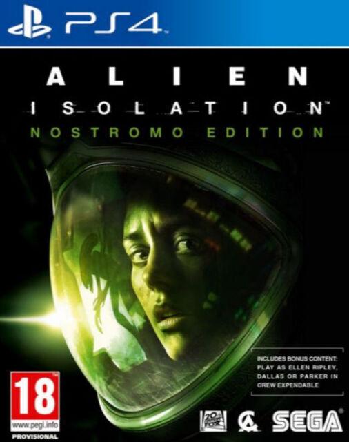 Alien: Isolation -- Nostromo Edition (Sony PlayStation 4, 2014)