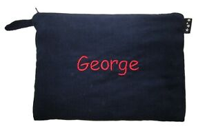 Personalised-XLarge-corduroy-pencil-case-31cm-by-22cm-pouch-bag-COLOUR-CHOICE