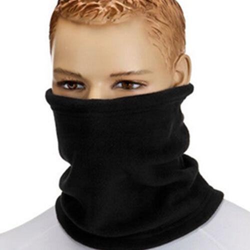 Unisex Fleece Snood Scarf Ski Balaclava Neck Winter Warmer Face Mask Beanie Hat