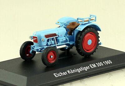 Eicher Tiger Traktor 1960 Traktor Fertigmodell Maßstab 1:43