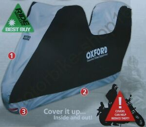 Oxford-Aquatex-Cover-with-Top-Box-Out-Indoor-Motorcycle-Cover-size-Medium-CV203