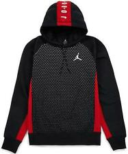 845391-010 Size XL Mens NIKE AIR JORDAN SEASONAL GRAPHIC HOODIE BLACK/RED $80