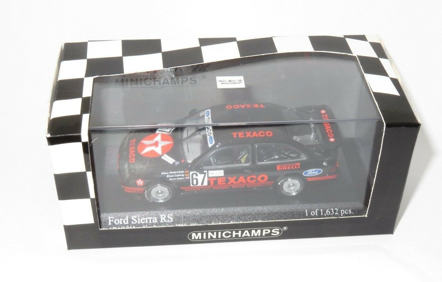 1/43 Ford Sierra RS500 Cosworth Texaco Eggenberger ADAC 24 horas Nurburgring 2018