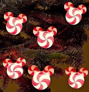Disney Parks Mickey Mouse Peppermint Christmas Lights | eBay
