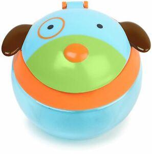 RéAliste Skip Hop Zoo Snack Cup-dog Baby Feeding Tasses Vaisselle Ustensiles Bn-afficher Le Titre D'origine Petit Profit