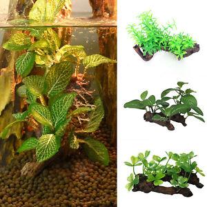 Image Is Loading 1pc Fish Tank Plastic Aquarium Plants Water Gr