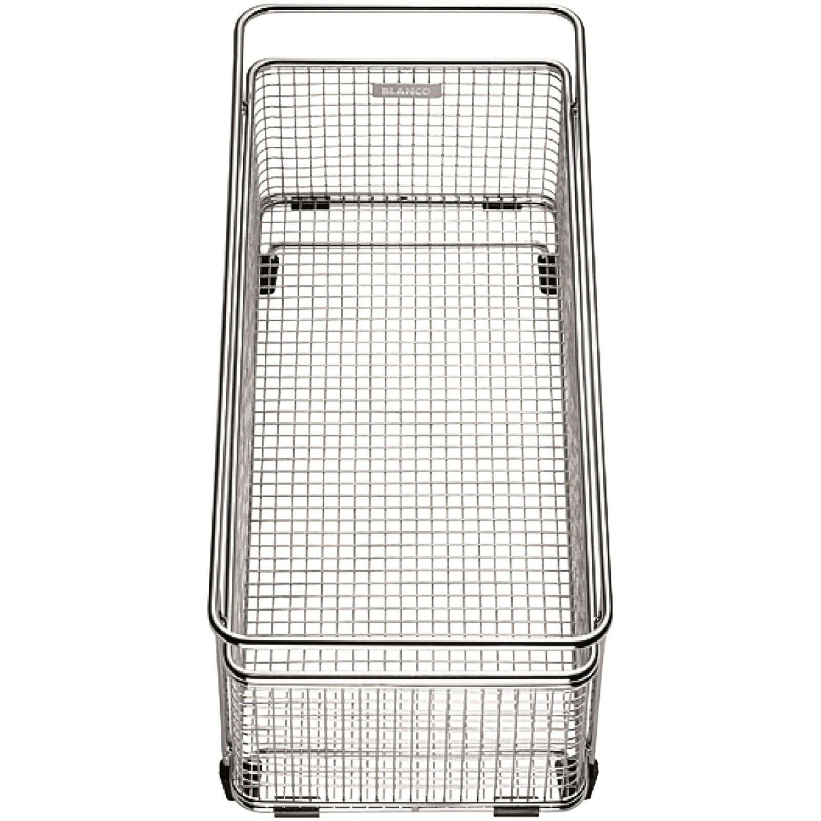 blanc MULTIFUNCTIONAL ACCESSORY BASKET 360x160x130mm Solid Stainless Steel