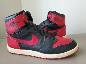 Super Rare Condition 1985 Details 1 Blkred Clean Jordan Sz Air About 10 Original 5 Nike kiPXZu