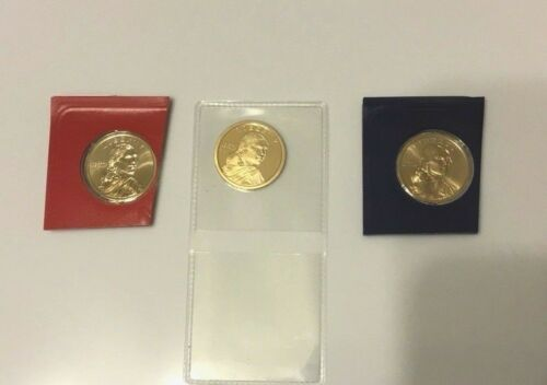 Proof Sacagawea Dollar And P/&D Gems All 3 2018-S $1 Native American DC