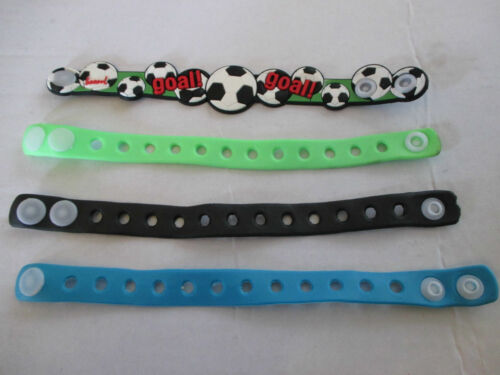 Jibbitz Shoe Charms Kid Gifts Wristbands Silicone rubber bracelet bands