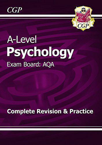 Neuf 2015 A-Level Psychologie: Aqa An 1 & 2 Complet Revision & Pratique par Cgp