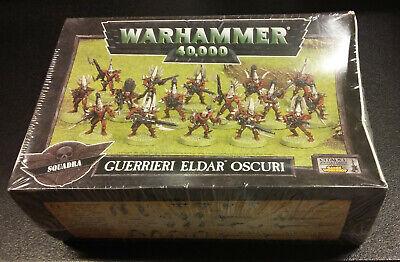Bene Warhammer 40k Dark Eldar Warriors Squad - Squadra Di Guerrieri Eldar Oscuri Prezzo Pazzesco