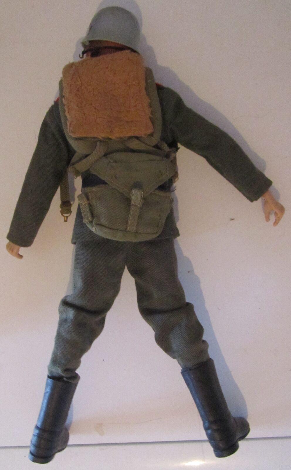 Action Man Vintage anni 60 60 60 70 con outfit e accessori 8a26de