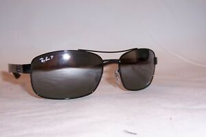 176c1f3194 New RAY BAN Sunglasses 8318CH 002 5L BLACK GRAY MIRROR POLARIZED ...
