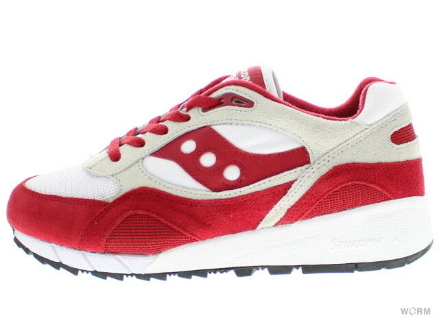 Saucony s70125-5 white/red Size 9.5