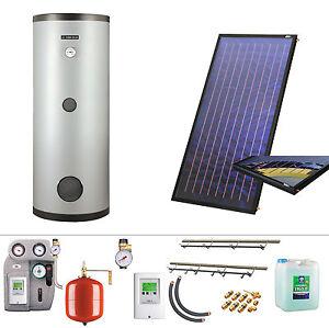 Warmwasser solar komplettset