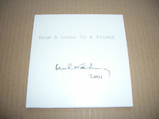 PAUL McCARTNEY - FROM A LOVER TO A FRIEND - PROMO CD SINGLE - CARD  - BEATLES
