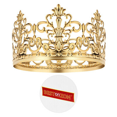 Birthday Party Cake Topper Gold Tiara Crown Design Cake ...