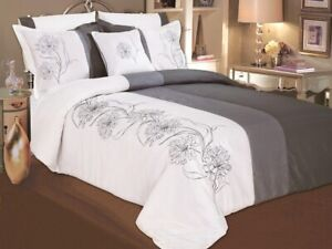 Life Style  Fashion Beddings Grey Fog Duvet Cover Set