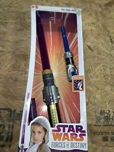 Star Wars Forces of Destiny Jedi Power Lightsaber New in Box