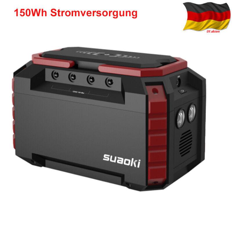 150Wh Solar Power Source Stromversorgung Solargenerator USB Powerbank Ladegeräte