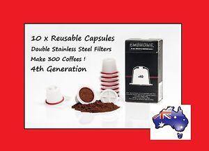 10-x-LATEST-Refillable-Reusable-Coffee-Tea-Capsules-Pods-Pod-4-Nespresso-Machine