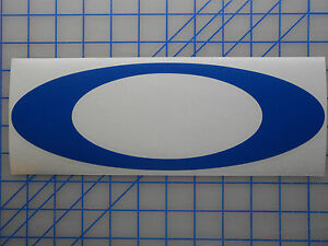 "Large Oakley ""O"" Logo Decal Sticker 17"" 23"" Sunglasses ..."