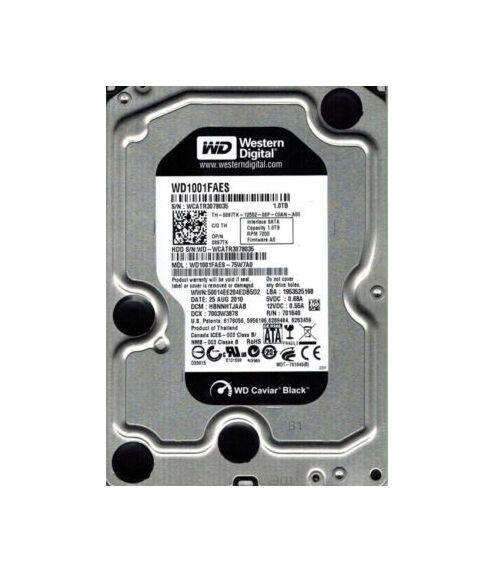 """Western Digital WD Caviar Black WD1001FAES 1TB 3.5/"""" SATA II Hard Drive"""