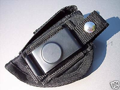 Black LEFT Hand Draw Belt Clip Loop Gun Holster for RUGER LCP 380 Made In USA