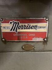 Morrison Keyseater Broaching Machine