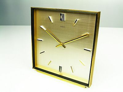 BIG BEAUTIFUL MODERNISM  BAUHAUS  DESK CLOCK  KIENZLE AUTOMATIC  GERMANY