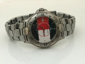 Tommy Hilfiger Men Watch Silver Tone Analog Date Calendar Wrist Watch WR 99FT