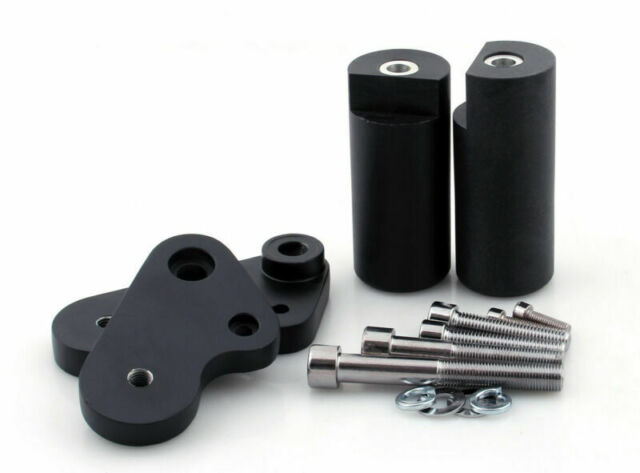 Tampon Protection Crash Pads Pour Yamaha YZF R1 2009-2010 Black A