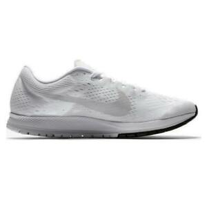 d110ac6d44b4 Image is loading Mens-NIKE-ZOOM-STREAK-6-White-Running-Trainers-