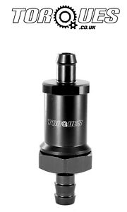 8mm-5-16-034-Barb-Rollover-Fuel-Tank-Vent-Valve-Inline-Vertically-Mounted-In-Black