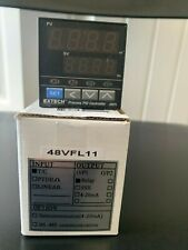 Extech 48VFL11 Temperature PID Controller 1//16 DIN with One Relay Output