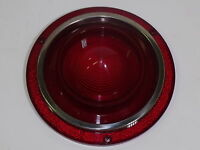 Fomoco Part - Stop & Tail Lamp Lens 1962 Ford Passenger (all Galaxie)