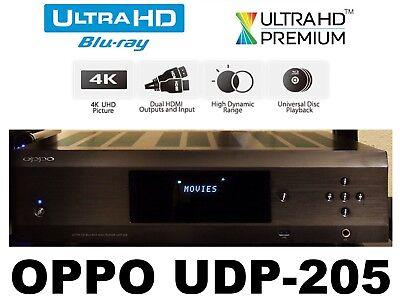 Oppo Digital Udp 205 4k Ultra Hd Uhd Blu Ray Dvd Audiophile Disc Player Used 10898072002506 Ebay