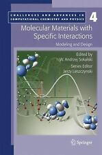 Molecular Materials with Specific Interactions - Modeling and Design (-ExLibrary