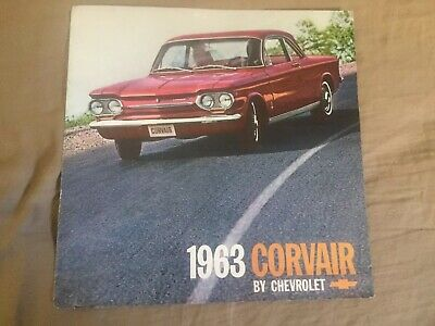 1964 Chevy Chevrolet Corvair Monza 700 and 500 Color Brochure Catalog  Prospekt
