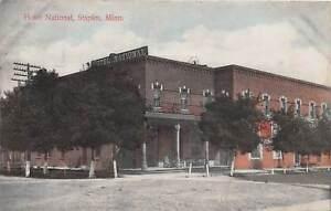 D88-Staples-Minnesota-Mn-Postcard-c1910-Hotel-National-Building