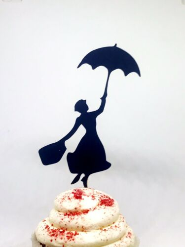 Mary Poppins them Mary Poppins cupcake toppers Mary Poppins Party