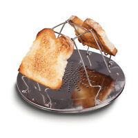 Folding Camping Toaster Stove Grill Toastie Portable