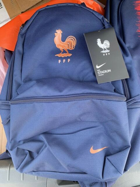 Best Gym Bags 2020 Nike France Stadium FFF Backpack Sports Soccer Football Bag Navy