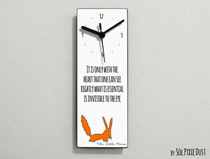 Details about The Little Prince Quotes - Le Petit Prince Quotes - It is  only with the heart...