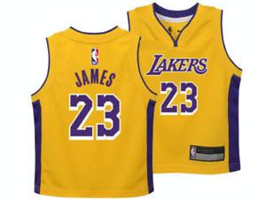 Los-Angeles-Lakers-Lebron-James-NBA-Basketball-Toddler-Yellow-Jersey-Kids