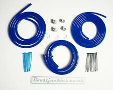 1.8T Blue Boostjunkies vacuum Hose Engine Dress Up Kit