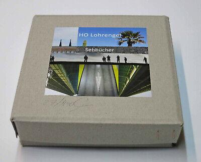 """signiert limitiert Künstlerbücher neu in der /""""Sehbücher-Box/"""" mit 8 Fotobüchern"""